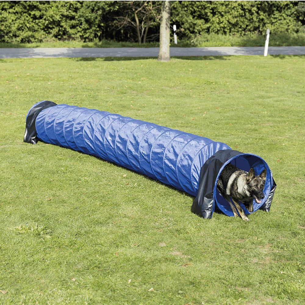Trixie dog agility tunnel  -5m long agility equipment